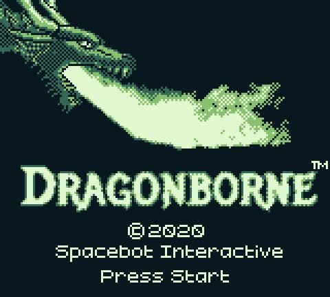 Dragonborne's Title Screen