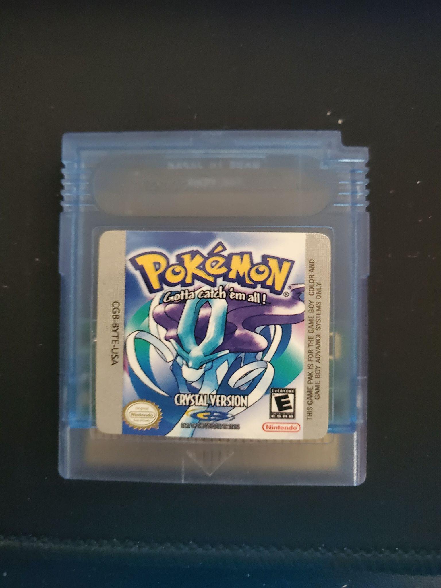 A Pokémon Crystal Bootleg